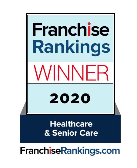 Franchise Rankings Winner 2020 - Careshyft